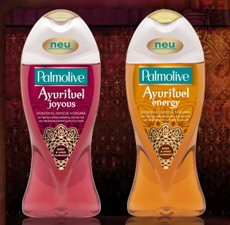 Palmolive shower gel free sample