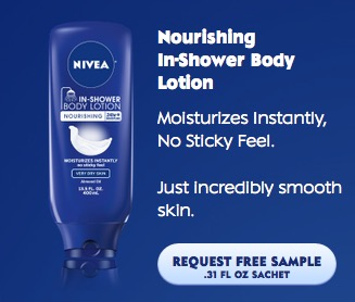 Nivea free sample