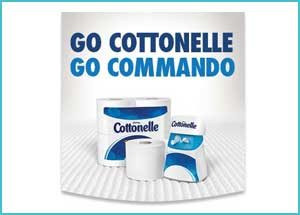 Free sample CleanRipple®Texture by Cottonelle