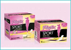 Playtex Sport free sample